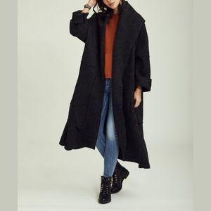 [ORNELLA PARIS] Wool Pocket Overcoat